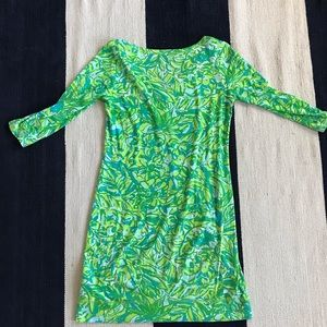 Lilly Pulitzer Dresses - Lily Pulitzer Small Shift Dress 3/4 Sleeve